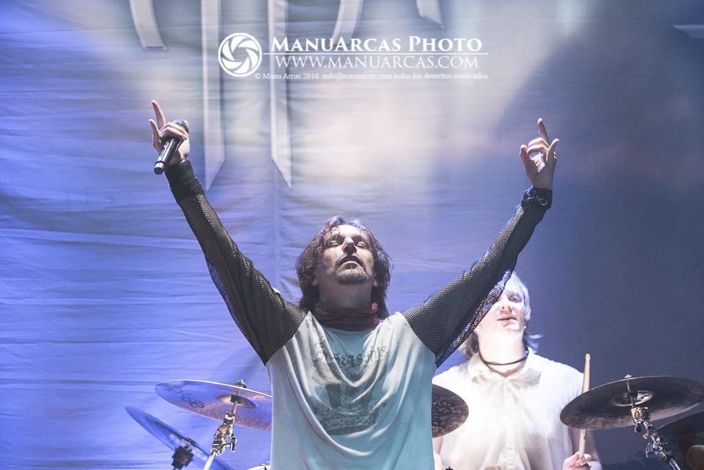Fotografía de Sonata Arctica en Madrid por Manu Arcas 2014